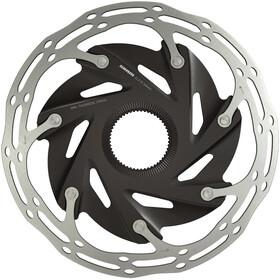 SRAM Centerline XR Rotor Bremsscheibe zweiteilig abgerundetes Profil Centerlock schwarz-silber